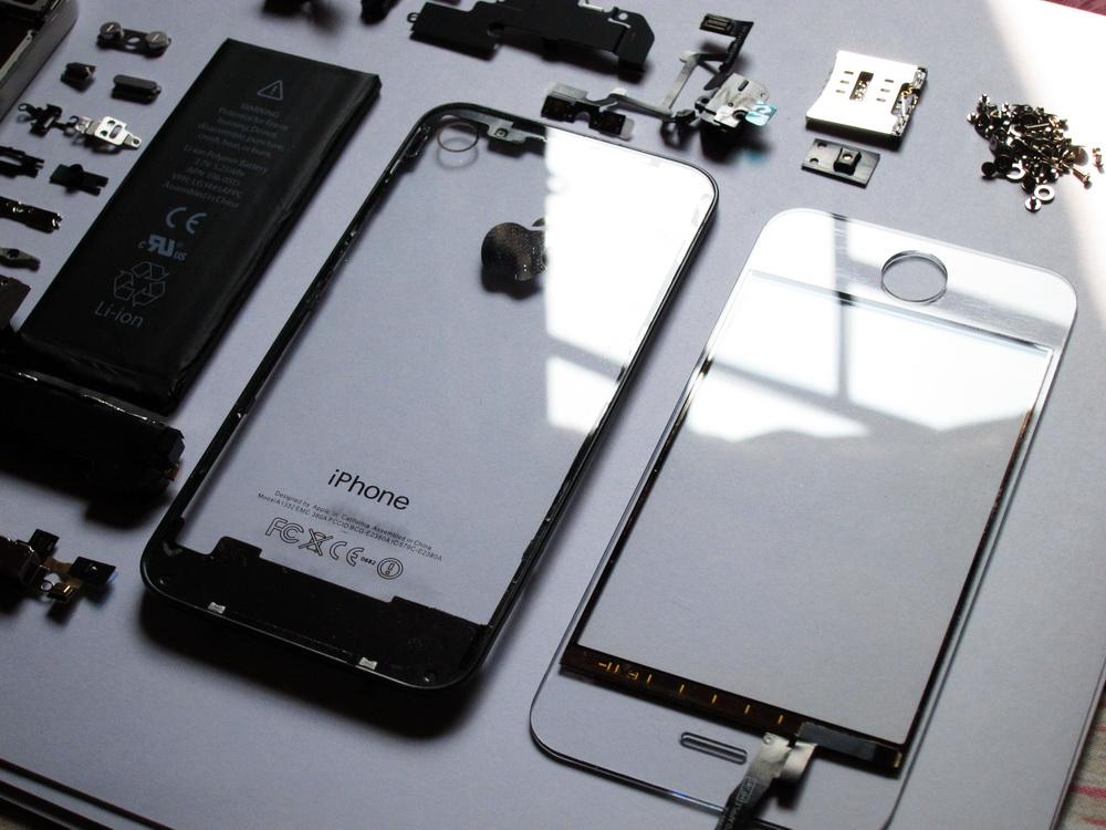 Kit trasparente per iPhone 4   Accessori