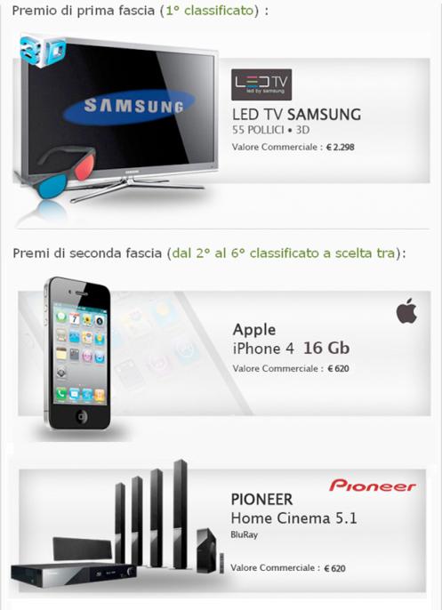 Youbuy organizza un contest con tanti premi in palio tra cui un iPhone 4