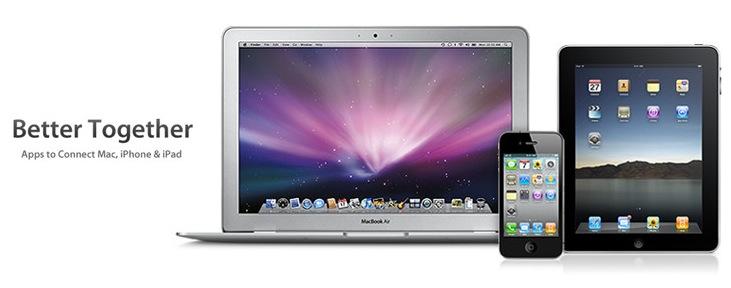 Better Together: la nuova sezione nel Mac App store con le applicazioni in grado di interagire con gli iDevicses