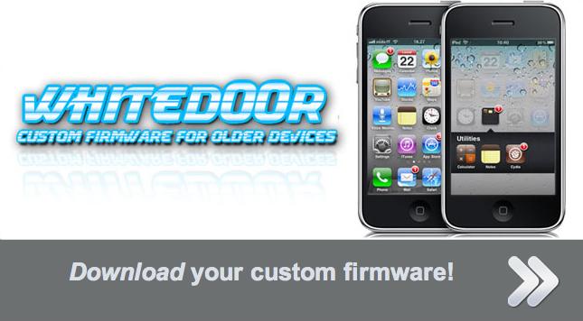Whited00r porta iOS 4.3 su iPhone 2G e 3G e iPod Touch prima e seconda generazione