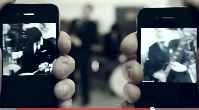 I Blue Stones utilizzano la tecnologia Facetime per il proprio video musicale