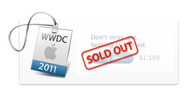 Nuovo Record per Apple: La WWDC 2011 registra il Tutto Esaurito in sole 10 ore!