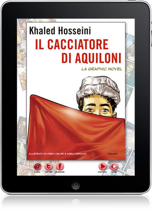 Esclusiva iPadevice: ecco un'anteprima de 'Il Cacciatore di Aquiloni', la prossima Graphic Novel di Enhanced Press