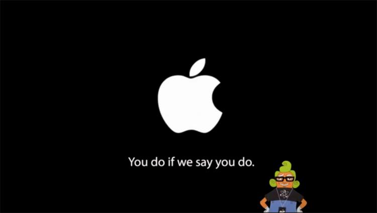 Charlie e la fabbrica Apple   Humor