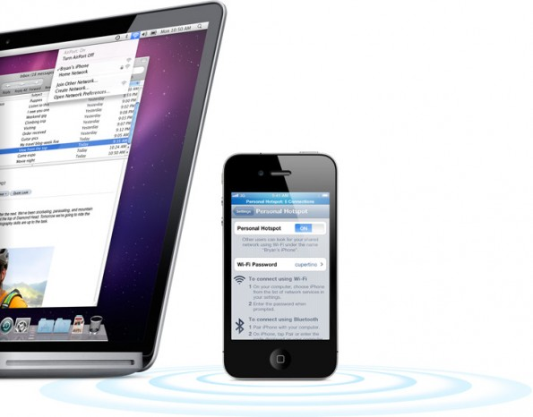La funzione HotSpot dell'iOS 4.3 comporta costi aggiuntivi? Scopriamolo insieme su iSpazio [AGGIORNATO x4]