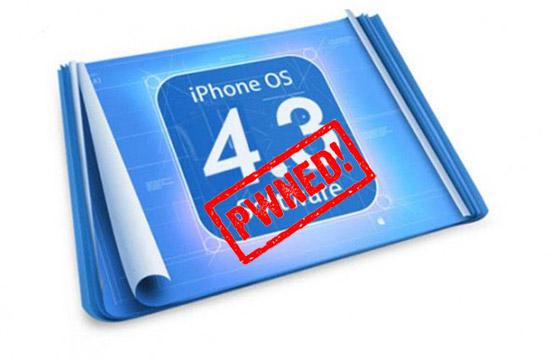 Il Jailbreak tethered su iOS 4.3 GM tramite PwnageTool è possibile