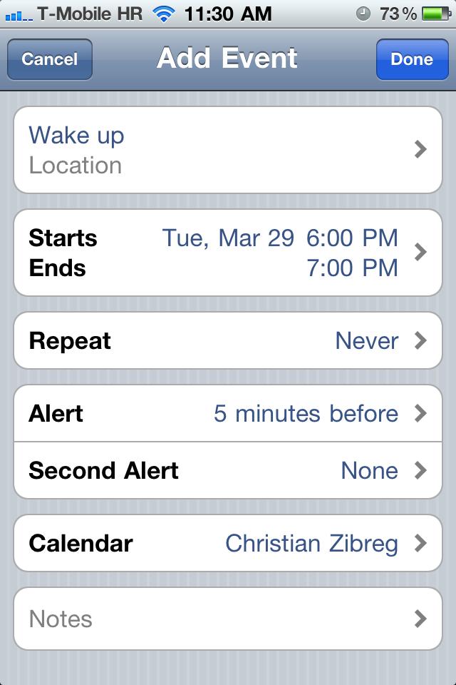 Alcuni utenti avrebbero riscontrato il bug con l'ora legale anche in iOS 4.3.1