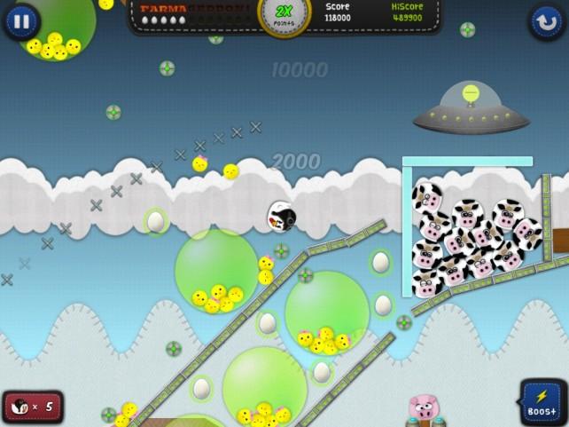 E' in arrivo Chicken Balls, un nuovo gioco che promette di seguire il successo di Angry Birds