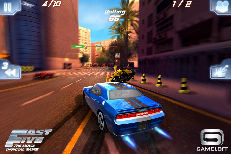 """""""Fast Five, il film: il gioco ufficiale"""" sarà disponibile il 28 aprile con Gameloft per iPhone, iPad e Android!"""