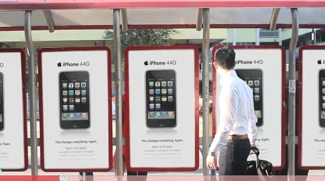 Ecco l'iPhone 44G, in un simpatico video umoristico
