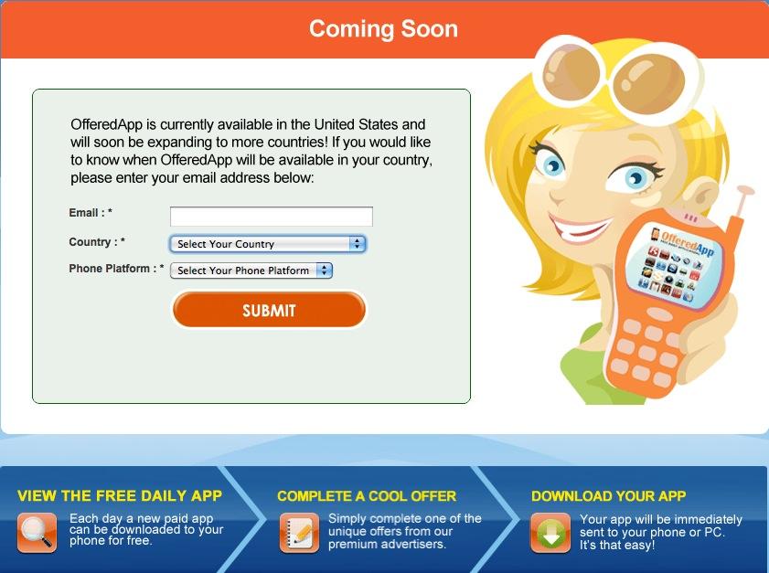 OfferedApp: un nuovo servizio con il quale potrete scaricare gratuitamente alcune applicazioni per iOS
