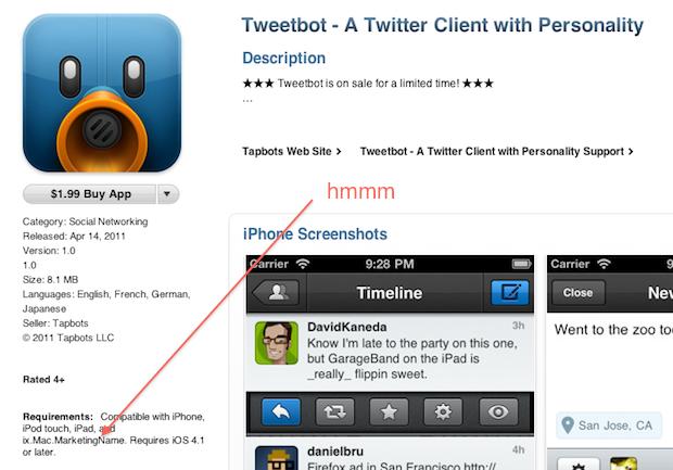 Strani segni dall'App Store: un semplice bug o un nuovo dispositivo in arrivo?