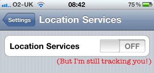 Locationgate: iOS continua a loggare la posizione dei dispositivi anche con il GPS disattivato