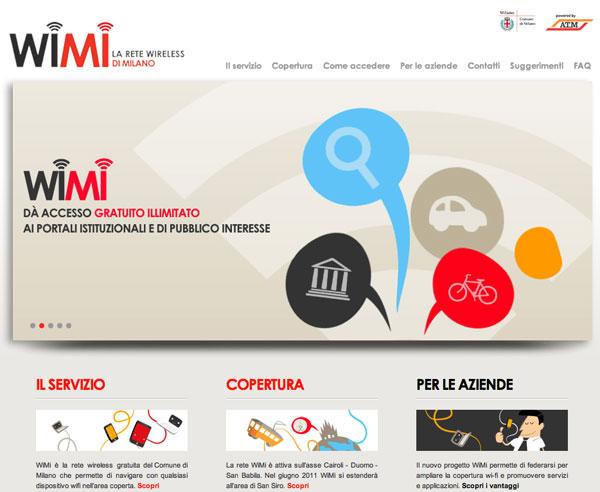 WiMi a Milano: Nasce la prima rete WiFi gratuita