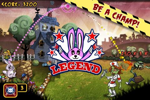 Bunny the Zombie Slayer, un nuovo divertente tower defense disponibile
