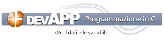 06. Le variabili e i tipi di dato – devAPP | iSpazio DevResources
