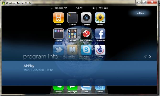 L'AirPlay arriva su Windows tramite il Media Center