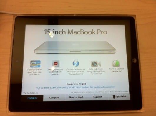 Gli iPad come cartoncini informativi negli Apple Store: ecco alcune curiosità! [Video]