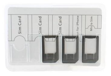 Multi-Sim Card Holder: Da USBFever un nuovo accessorio per le SIM Card.