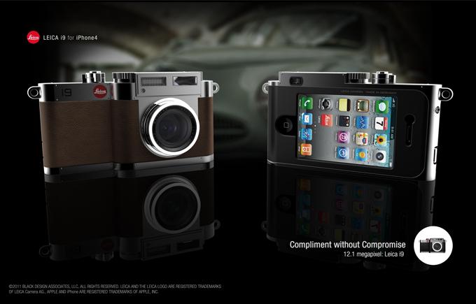Leica i9: Il concept della fotocamera con iPhone integrato