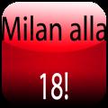Milan alla 18, l'app per festeggiare il 18° scudetto dei rossoneri
