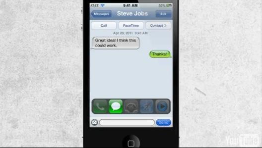 Ecco un Video Concept che mostra il Multitask del prossimo iOS 5