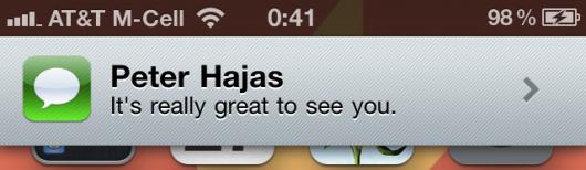 Peter Hajas interrompe il suo lavoro su MobileNotifier e Widge, semplice coincidenza o richiesta di Apple?