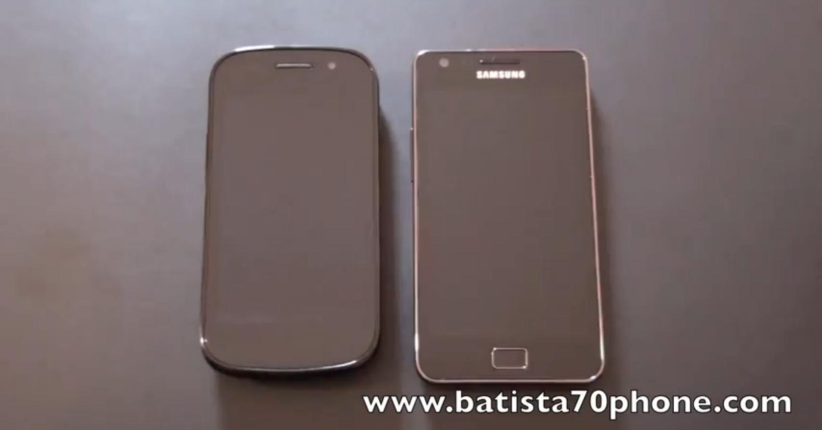 Samsung Galaxy S 2 e Nexus S: il videoconfronto