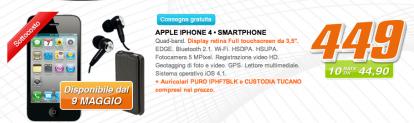 Saturn: iPhone 4 a 449€, in offerta! [Aggiornato X2]