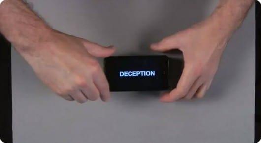 Deceptions: Ecco un divertentissimo spettacolo di magia attraverso 3 iPod Touch! [Video]