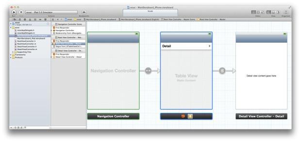 Grazie ad Xcode, Apple introduce un nuovo modo di creare le interfacce di iOS 5!