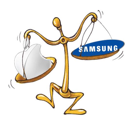 Nuovi sviluppi nella causa Apple vs Samsung, il giudice se ne 'lava le mani'