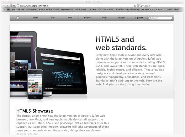 Apple acquista il dominio HTML5.com