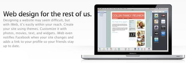 Steve Jobs conferma tramite mail la fine di iWeb
