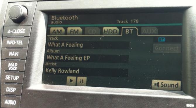 I dispositivi con iOS 5 potranno inviare dati sui brani agli stereo bluetooth!