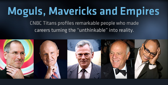 CNBC Titans: la prima puntata è dedicata a Steve Jobs!
