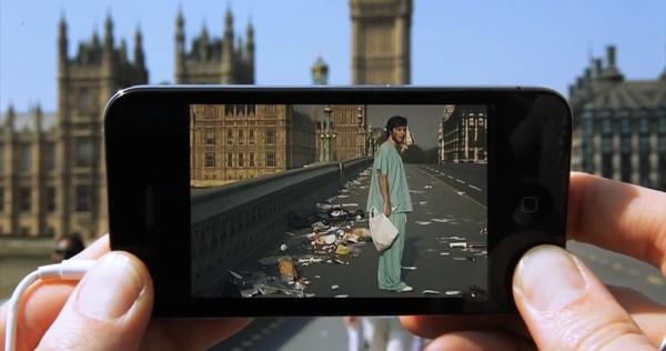 Realtà Aumentata: rivedi le scene di film girati nel luogo in cui ti trovi con Augmented Reality Cinema! [Video]   Concept