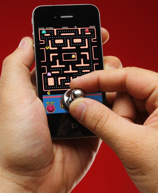 ThinkGeek lancia sul mercato il joystick fisico per iPhone e iPod Touch! [Video]