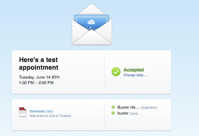 Novità per l'app Calendario grazie ad iCloud: adesso è possibile invitare gli utenti ad eventi e sapere chi parteciperà!