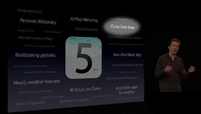 Ecco una delle tante piccole novità di iOS 5 di cui non si è ancora parlato: l'iTunes Tone Store!