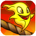 Burn The Rope disponibile in offerta gratuita in AppStore