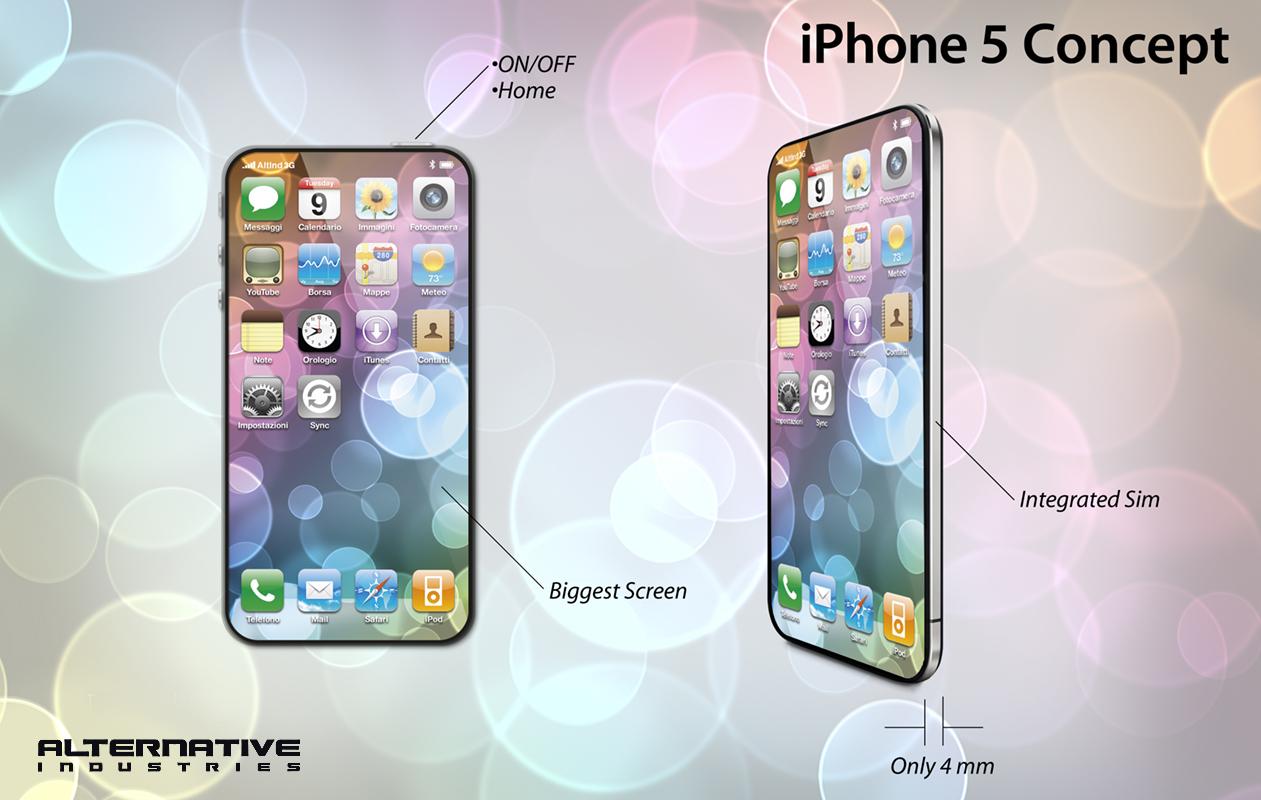 Concept Mania: ecco un'altra idea di iPhone 5