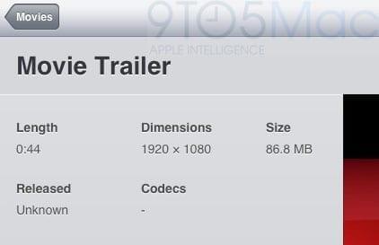 iOS 5 è anche in grado di riprodurre video in Full HD a 1080p.