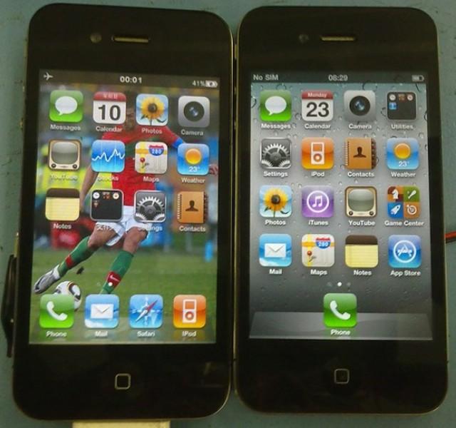 Ecco il più incredibile Clone dell'iPhone 4 mai realizzato! Indovinate qual'è quello vero!