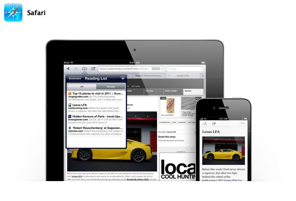 Safari su iOS 5: Scopriamo insieme tutte le novità del miglior browser mobile