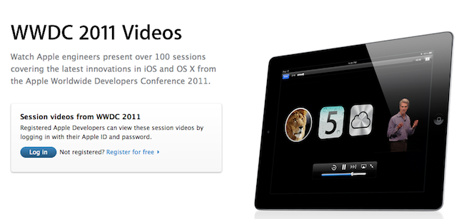 wwdc video sessions