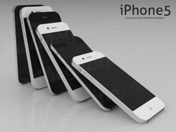 E se il prossimo iPhone 4S/5 fosse così? | Mockup