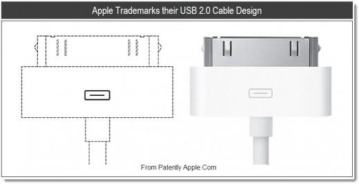 Apple tenta di brevettare il Design del cavo usb