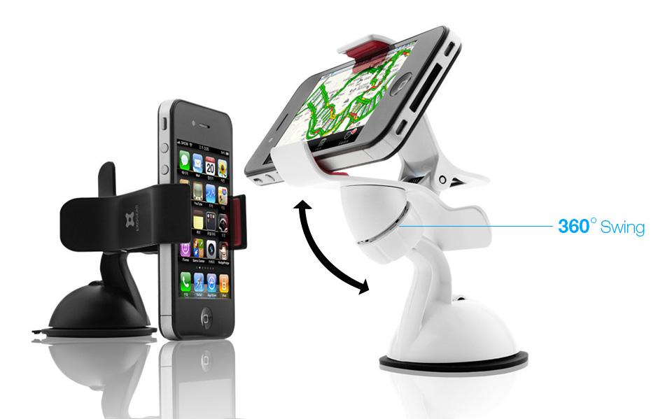 Exomount: il nuovo supporto da auto per i nostri iPhone