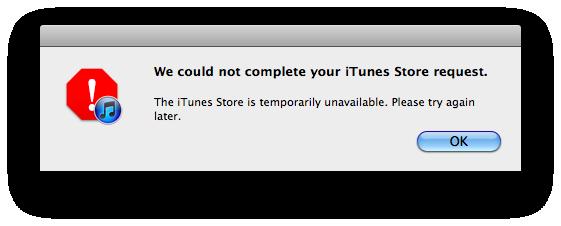 iTunes Store e Mac App Store down per alcuni utenti. Novità in arrivo?